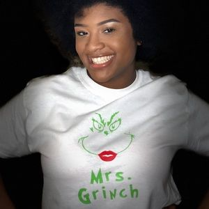 Tops - Mrs. Grinch T-Shirt